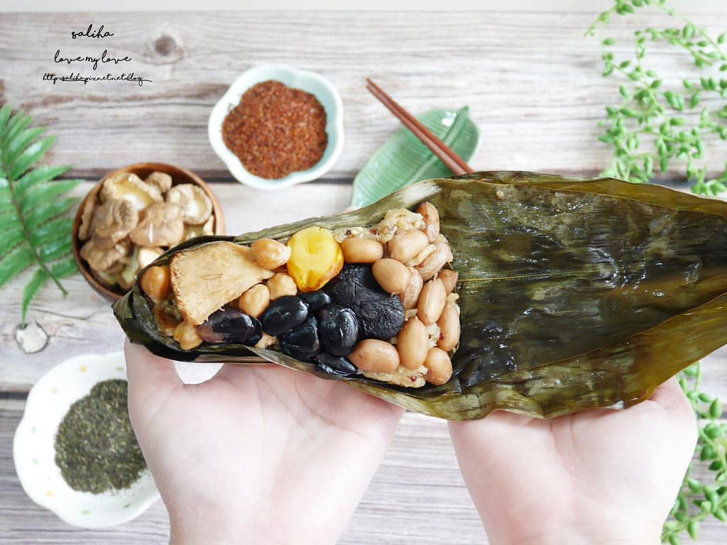 好吃素食禮盒推薦百喬食品素粽甜粽 (5)