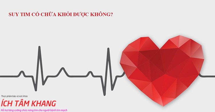 Bệnh suy tim có chữa được không