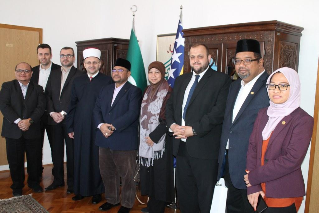 Malezijska delegacija kod muftije