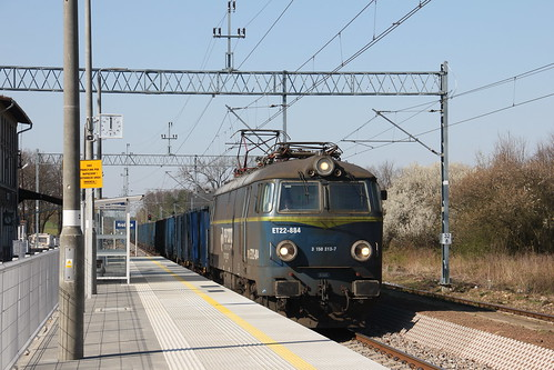 PKP CARGO ET22-884 , Krośnice train station 16.04.2019