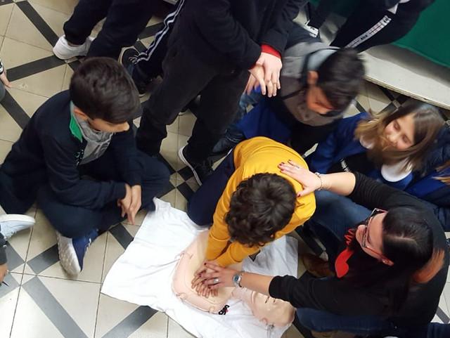 lezioni di pronto soccorso a scuola