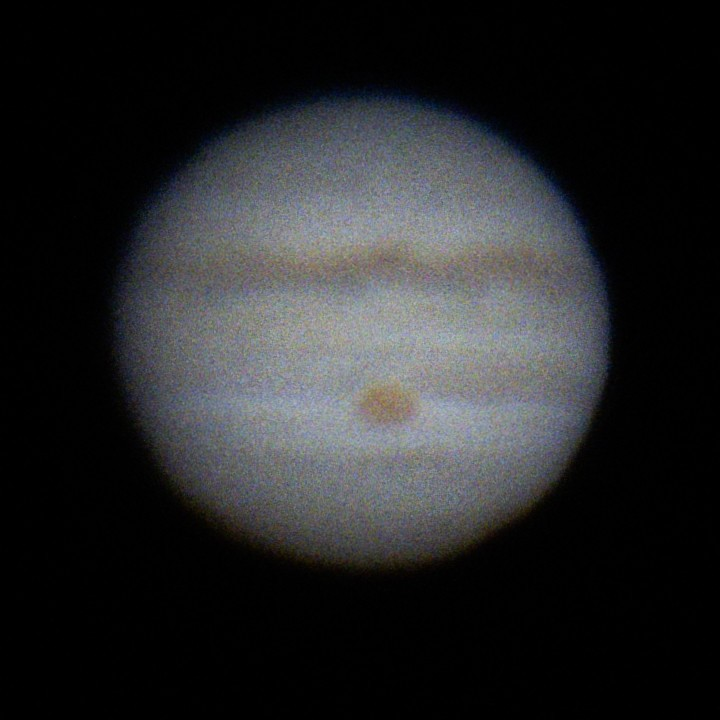 木星 (2018/7/8 20:05) (1フレーム)