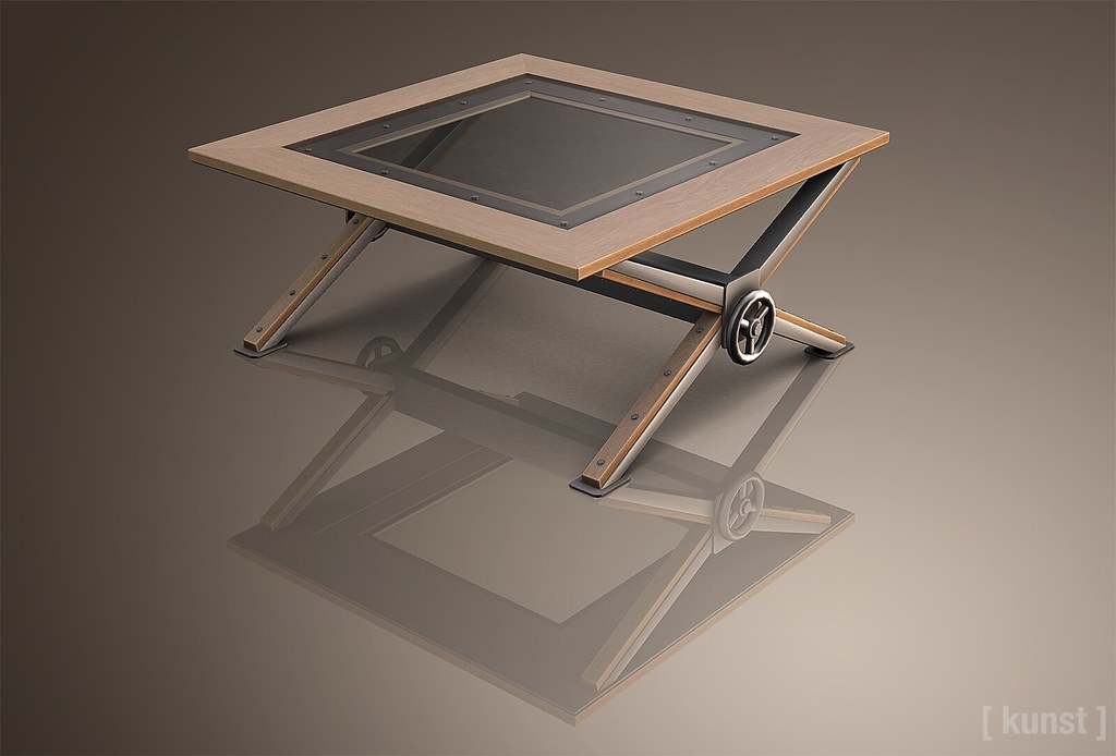 [ kunst ] - Edison coffee table - TeleportHub.com Live!