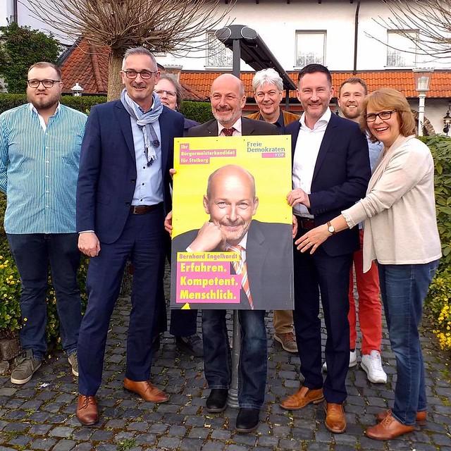 Stephen Paul MdL zu Besuch in Herzogenrath am 17.04.2019