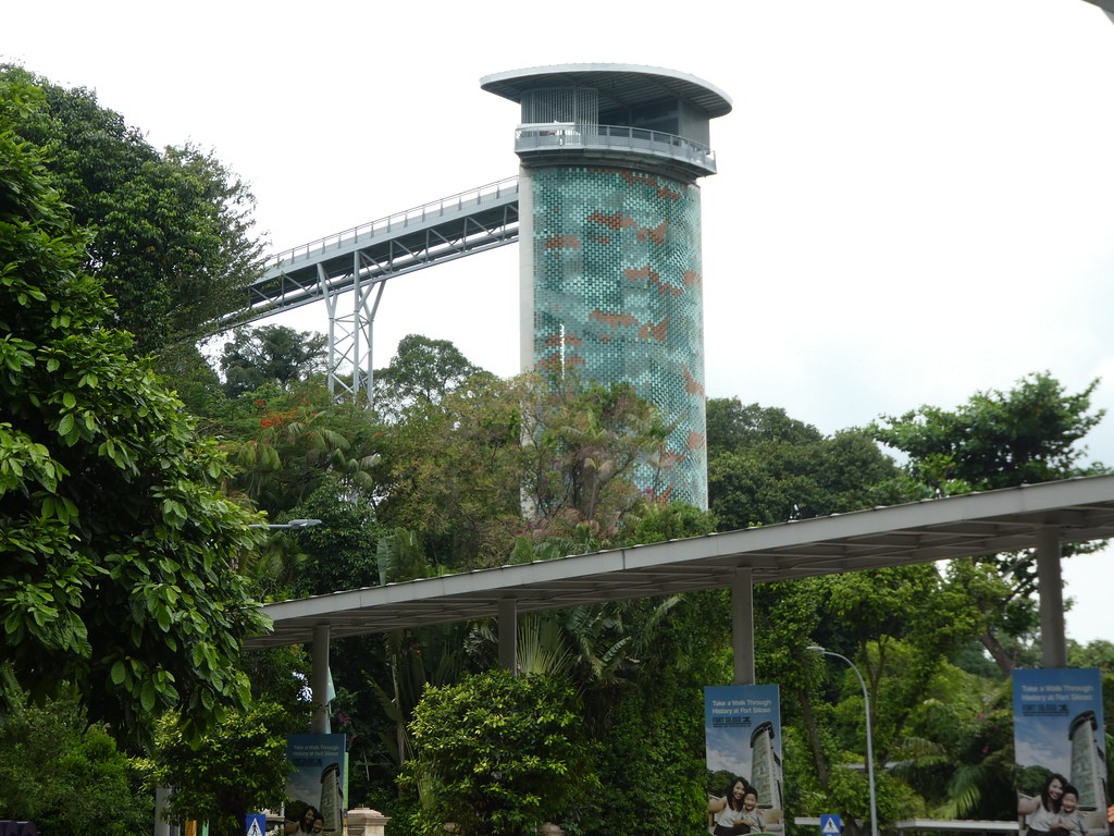 Fort Siloso Skywalk, Sentosa Island