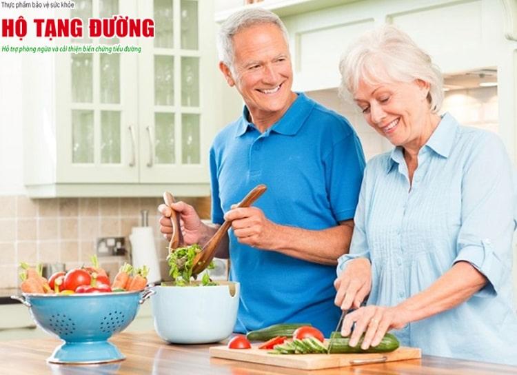 Ăn uống lành mạnh là giải pháp điều trị tiểu đường giai đoạn đầu hiệu quả.
