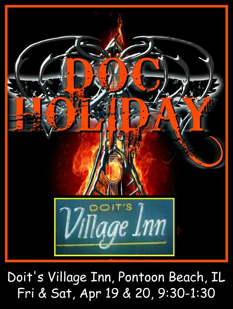 Doc Holiday 4-19, 4-20-19