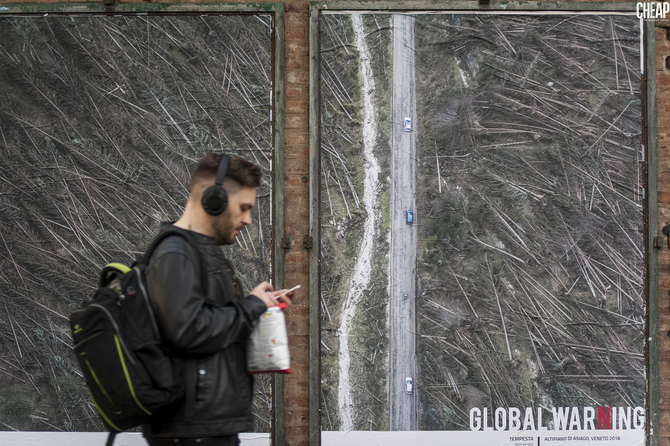 GLOBAL WARNING | Michele Lapini | CHEAP street poster action