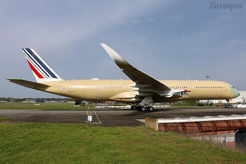 F-WZFN Airbus A350 Air France