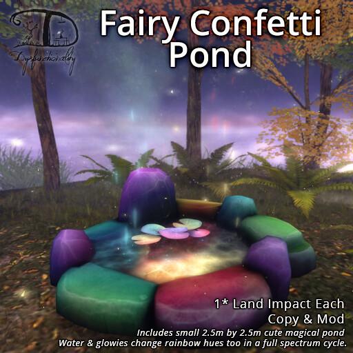 Fairy Confetti Pond - TeleportHub.com Live!