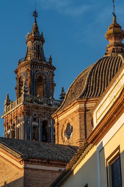 Torre de la Iglesia de Santa María de Écija - Sevilla - Andalucía - España.