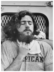 Choked while being photographed by police: 1970