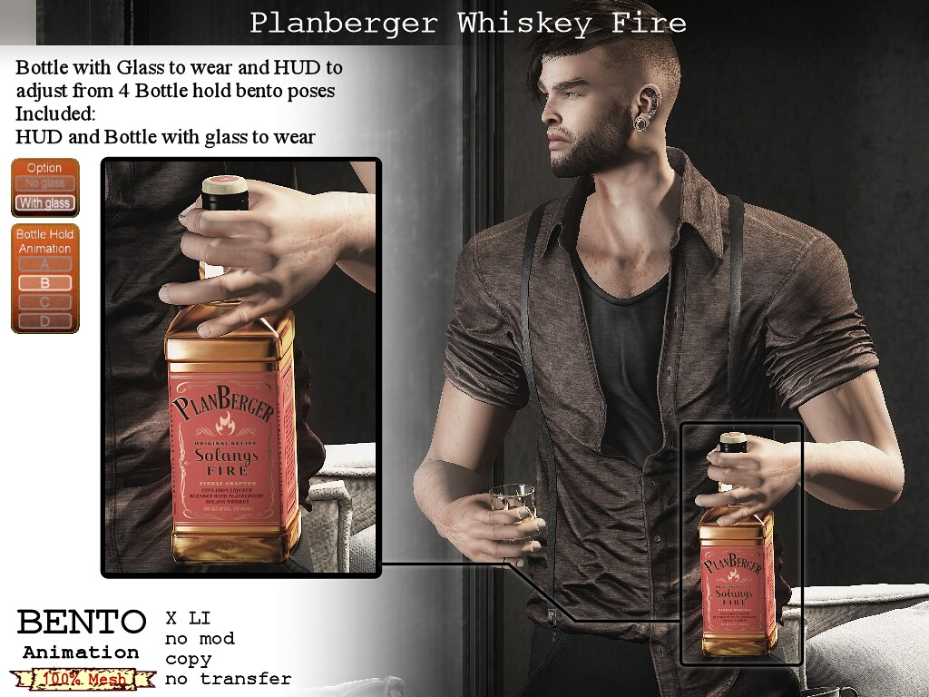 No59 Whiskey Fire to wear