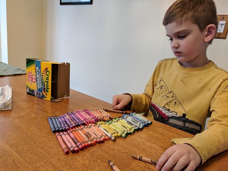 64 Crayola Crayons