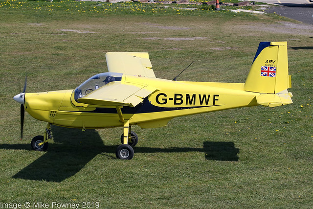 G-BMWF - 1986 build ARV Aviation ARV1 Super 2, visiting Barton