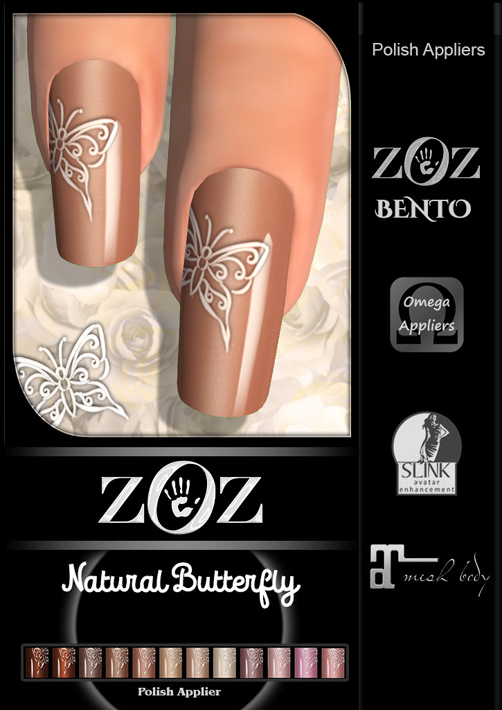 {ZOZ} Natural Butterfly L pix