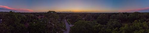 valrico florida unitedstatesofamerica mavicair djimavicair dji sunset drone uav sky skies colorfulskies skyporn trees road suburbia panorama pano panoramic lightroom tampa tampabay tampabayarea