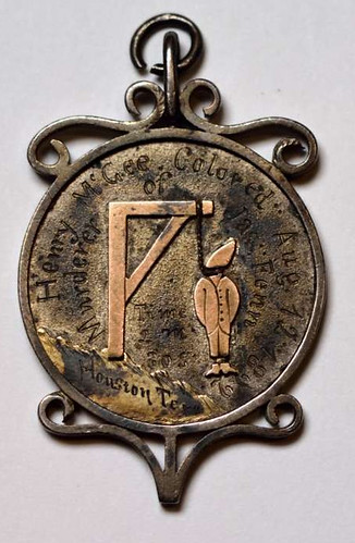 Henry McGee hanging medal obverse