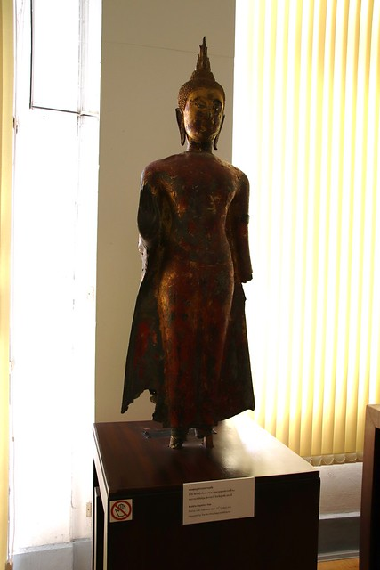 Bronze Buddha Dispelling Fear, Ramkhamhaeng Museum, Sukhothai
