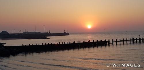 sunrise lowestoft suffolkcoast suffolk uk eastanglia earlymorning england