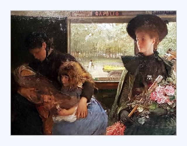 The Bayswater Omnibus (1895) detail
