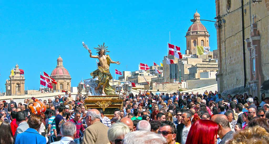 Pasen op Malta: processies