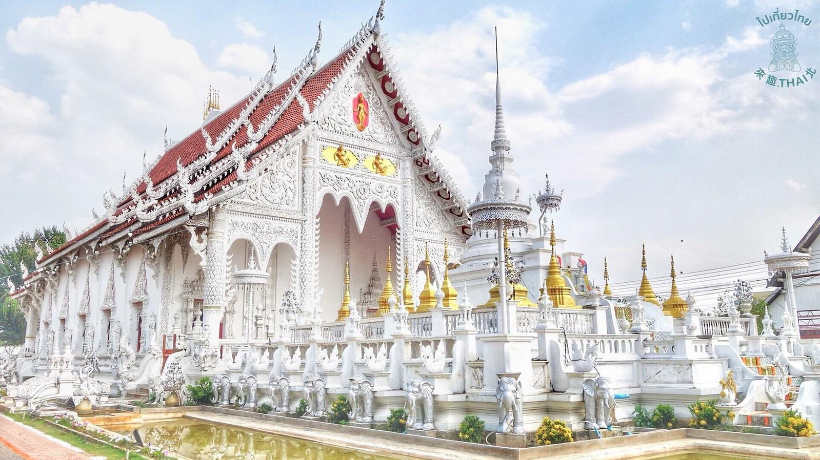 南邦的白廟-清萊寺(วัดเชียงราย)