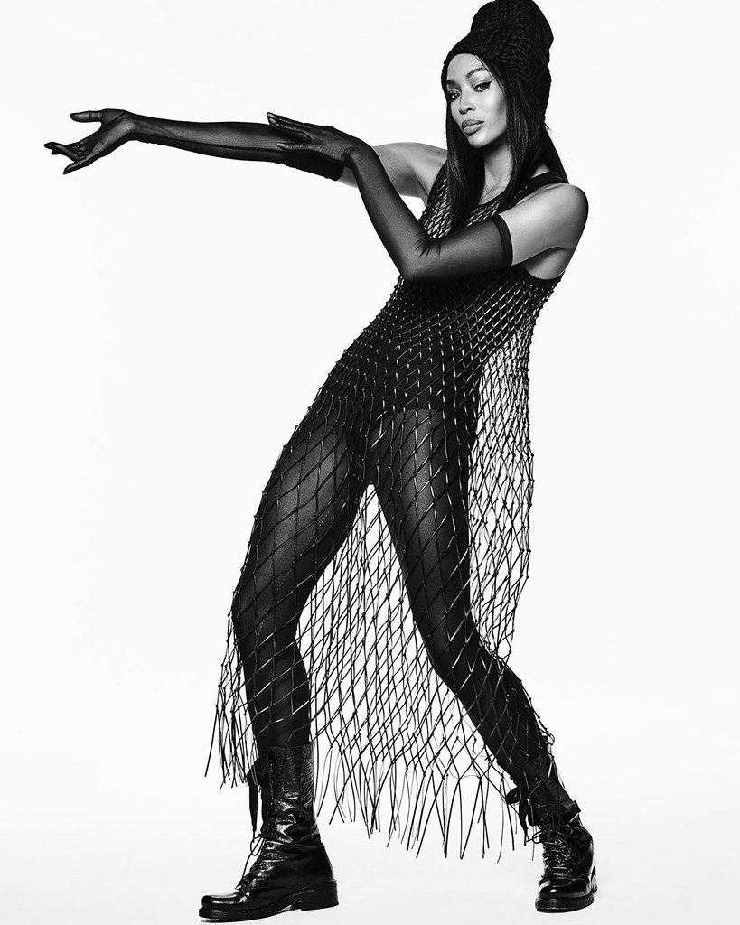 Наоми Кэмпбелл в платье Dior