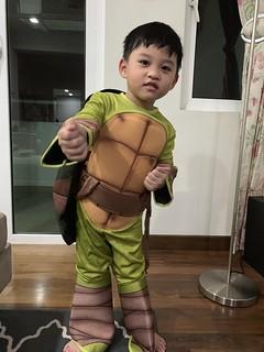 Zafeer Ninja Turtle Costume