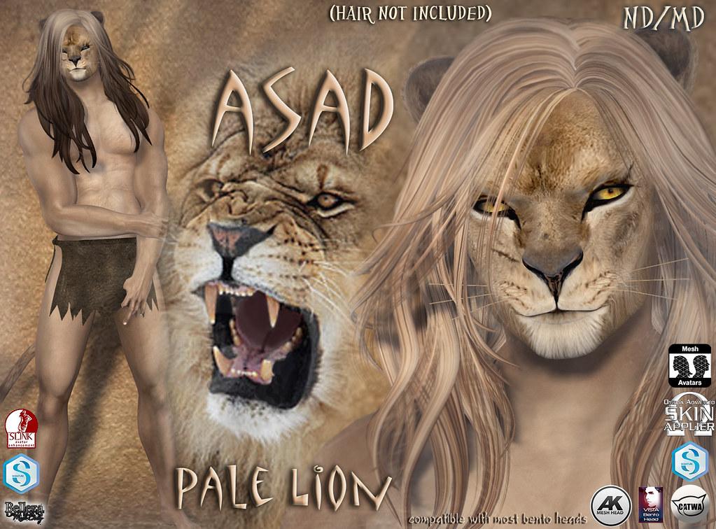 Asad avatar pale - TeleportHub.com Live!