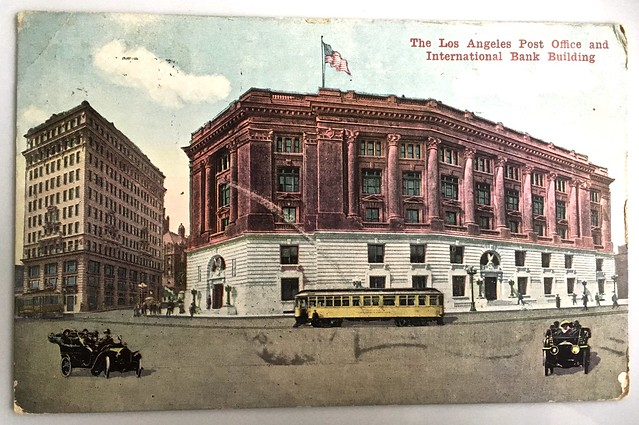 Los Angeles post office in 1918