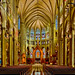 St. Mary's Cathedral Basilica of the Assumption, 1130 Madison Avenue Covington, Kentucky, USA / Dedicated: Janurary 27, 1901 / Architects:  Leon Coquard, David Davis / Architectural Style: Late Gothic Revival, French Gothic / NRHP: July 20th, 1973 by Photographer South Florida