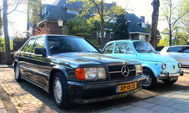 Mercedes-Benz 190E 2.3-16V Cosworth / Fiat 500 Nuova