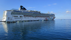 NORWEGIAN PEARL- my vacation home for two weeks with the promise to explore the Caribbean @ Ocho Rios