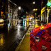 Rainy night on Rue Notre-Dame 1  (Montreal) by MassiveKontent