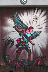 Funchal Citty Graffity Angel