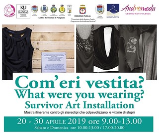 COME ERI VESTITA mostra