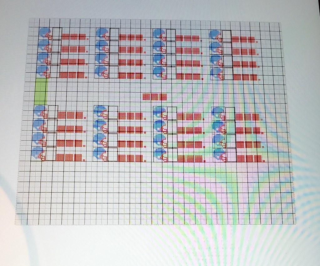 Uni Watch Craft Project: Tecmo Super Bowl Cross-Stitch