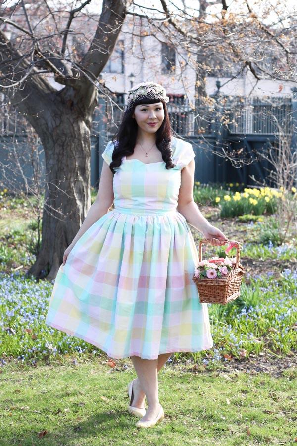 pastel easter dress