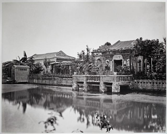 Hotz collection, Guangzhou, Huangpu recreation house, by Milton M. Miller (?), ca. 1860