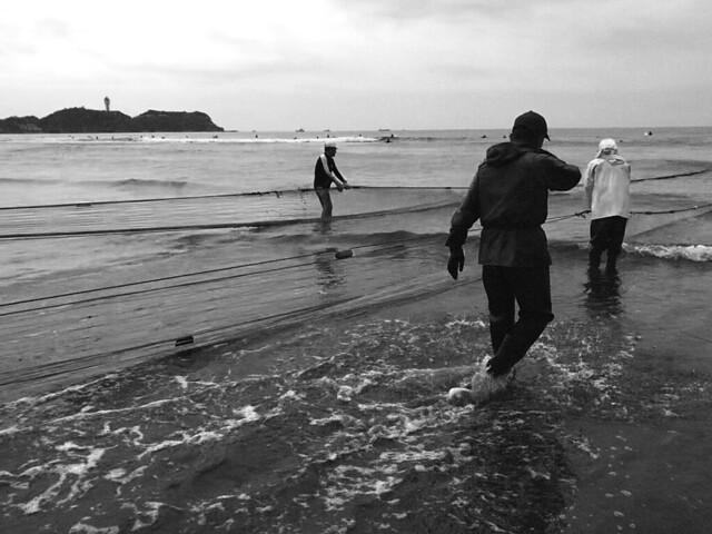 fishermem at Enoshima