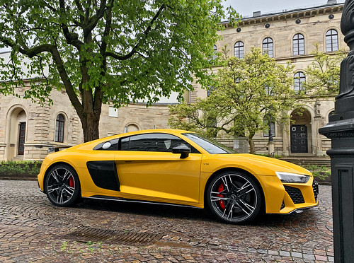 Essai Audi R8 V10 Performance 2019 - Supercars