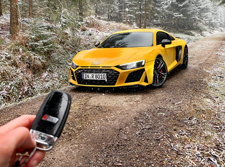 Essai Audi R8 V10 Performance 2019 - Supercars   by dsgforever