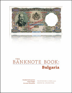 Banknote Book Bulgariacover