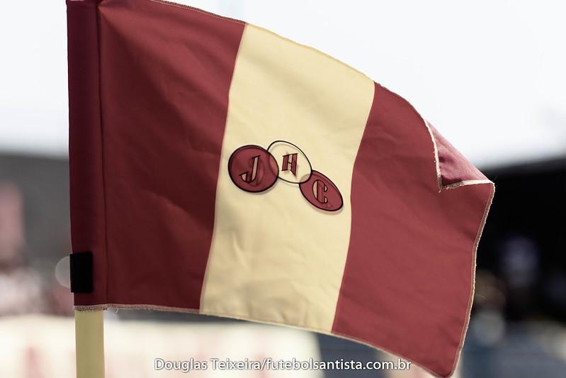 Bandeira de escanteio no estádio Espanha, casa do Jabaquara
