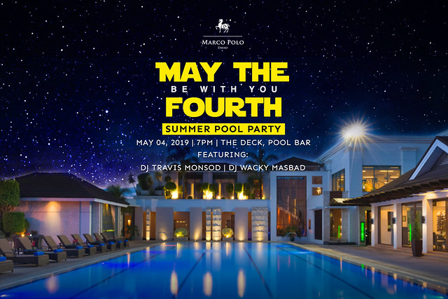 May the 4th Pool Party