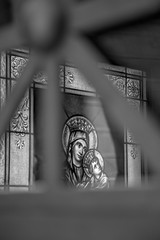 Recoleta Cemetery stained glass window 4