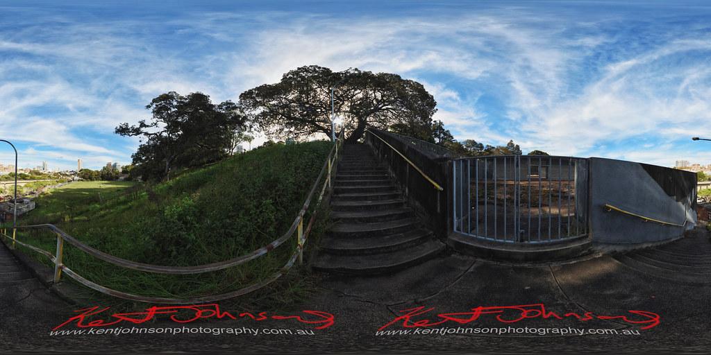 Power Stairs - Domain - Phillip Precinct, Sydney