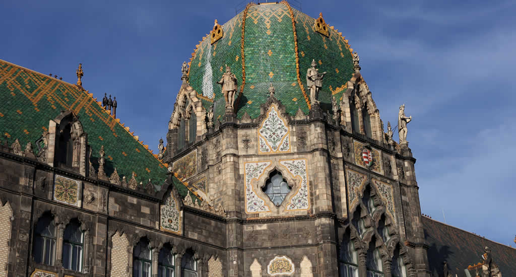 Museum voor toegepaste kunst, Boedapest | Mooistestedentrips.nl
