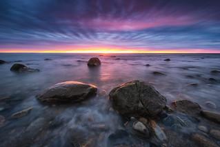Sunrise At Montauk Point